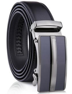 Microfiber Leather Mens Ratchet Belt Belts For Men Adjustabl