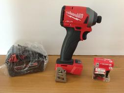 Milwaukee M18 FUEL Cordless PRO Impact Driver 1/4in Hex ,5Ah