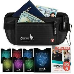 Money Belt For Travel With RFID Blocking Sleeves Set For Dai