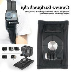 Mount Backpack Clip Belt Buckle for Gopro Hero6 5 4 Sports C