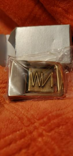N&W SMALL  BELT BUCKLE NEW IN BAG