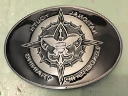 NATIONAL YOUTH LEADERSHIP TRAINING BELT BUCKLE APPROX. 3 1/4
