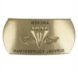 navy belt buckle enlisted air crew survival