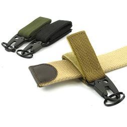 1Color Only Carabiner Hook Webbing Buckle Nylon Molle Belt