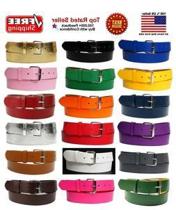 New Bonded Leather Belt Multi Color Golf Baseball Softball R