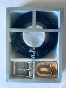 New Dante Diffusion  Genuine Leather Belt Interchangeable Bu