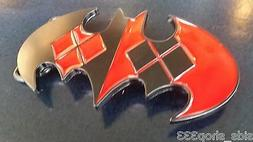 New Dc Comics Harley Quinn Batman logo Joker Belt Buckle cos