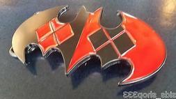 new harley quinn batman logo joker belt