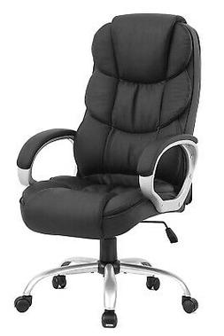 High Back Leather Office Chair Executive Office Desk Task Co