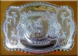 "NEW INITIAL "" C ""  RODEO BIG HUGE LARGE COWBOY WESTERN BELT"