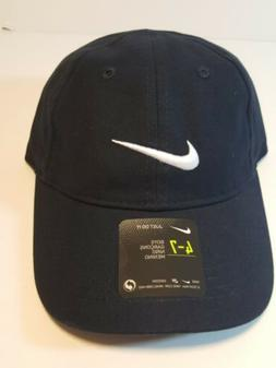 NEW Nike Navy Blue Youth Boys Adjustable  Baseball Cap Hat S