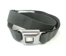 New Buckle Down Plain Seat Belt Buckle Adjustable Belt Charc