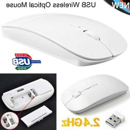 New Slim Wireless Optical Mouse Mice for Apple Mac Laptop PC