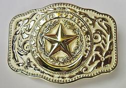 NEW WESTERN STAR STATE OF TEXAS WHITE AND GOLD RODEO FLAG CO