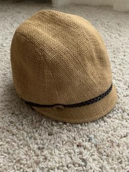 NEW San Diego Hat Company Women's Cadet Hat Linen Cotton Bel