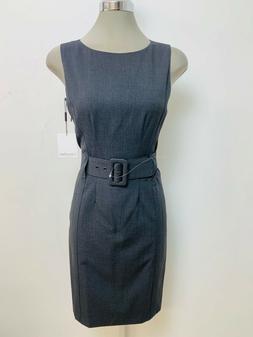 Calvin Klein NWT CHARCOAL Wide Waist Belt Buckle Wear at Wor