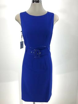 Calvin Klein NWT REGATTA  Dress W Wide Waist Belt Buckle Wea