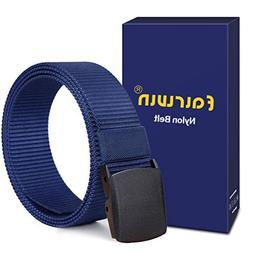nylon web belt with ykk plastic buckle