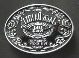 Jack Daniels Old No. 7 Belt Buckle black and silver color US
