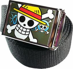 One Piece Monkey D. Luffy Belt Buckle Bottle Opener Adjustab