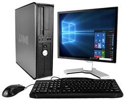 Dell Optiplex with 20-Inch Monitor , Black