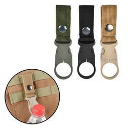 Outdoor Camping Carabiner Nylon Belt Buckle Hanging Key Ring