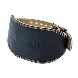 Harbinger 361002 Padded Leather Contoured Weightlifting Belt