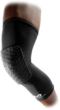 Mcdavid Pair Teflx Leg Sleeves, Large, Black Better Fit Dura
