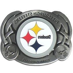 Pittsburgh Steelers Enameled Belt Buckle