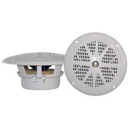 Pyle Plmr41w Dual Cone Waterproof Stereo Speakers