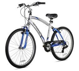 Northwoods Pomona Men's Dual Suspension Comfort Bike, 26-Inc
