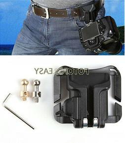 Portable Waist Belt Buckle Hanger Hard Plastic for Canon Nik