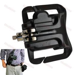 Portable Waist Belt Buckle Strap Hanger Holder for Canon Nik