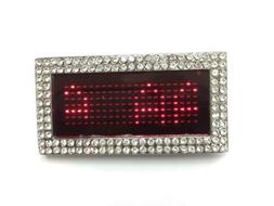 Programmable LED Light Text Screen Display Scrolling Red LED