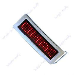 Programmable LED Screen Message Display Scrolling Red LED Ch