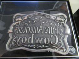 AndWest Pure American Cowboy Belt Buckle-MENS- WESTERN- #618