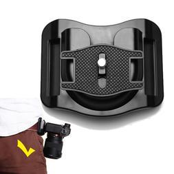 UJM Quick Release Camera Waist Band Belt Buckle Mount Hanger