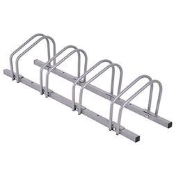 Goplus Bike Rack Bicycle Floor Stand Parking Garage Storage