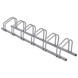 Goplus 6 Bike Rack Bicycle Stand Parking Garage Storage Orga