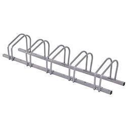 Goplus 5 Bike Rack Bicycle Stand Parking Garage Storage Orga