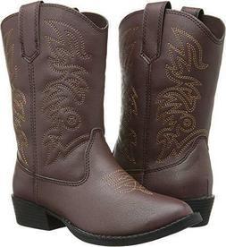 Deer Stags Kids' Ranch Cowboy Boot Pre/Grade School Boots  -