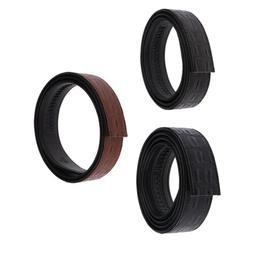 Ratchet Belt Replacement Men's Faux Leather Dress Strap Wais