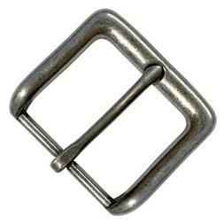 replacement belt buckle antique silver tone buckle