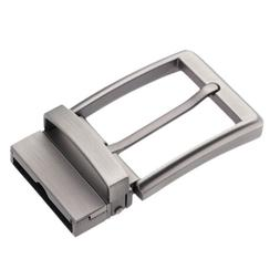 Reversible Alloy Belt Buckle Single Prong Pin Buckle Replace