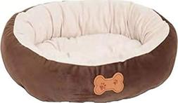 Round Bolster Dog Bed
