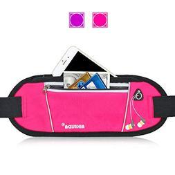 AIKELIDA Running Belt/Fanny Pack/Fitness Belt/Waist Pack for