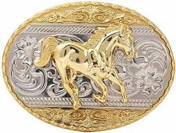 Running Horse Belt Buckle,Western Cowboy Rodeo Belt Buckles