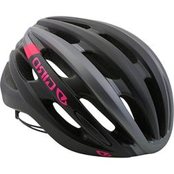 Giro Saga Cycling Helmet - Women's Matte Black/Pink Race Med