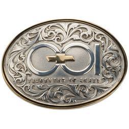 **SALE** Chevrolet 100th Anniversary Belt Buckle 100 Years C