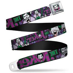 Seat Belt Buckle for Pants Men Women Kids DC Comics Joker WJ